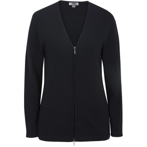 Ladies' Full Zip V-Neck Cardigan